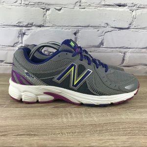 New Balance 450v3 Gray Purple Running Shoes